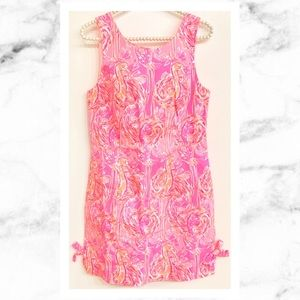 Lilly Pulitzer Pink Flamingos Mila Shift Dress 🌴